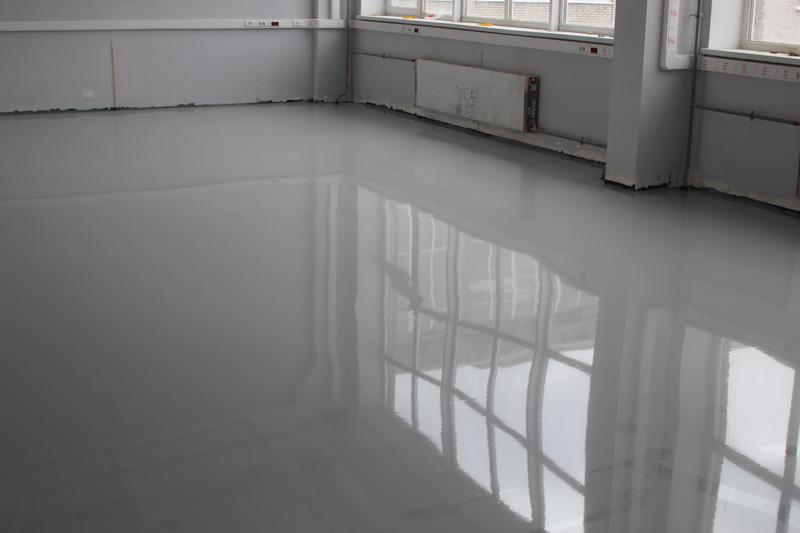 Эпоксидный белый наливной пол что лучше стяжка или наливные полы