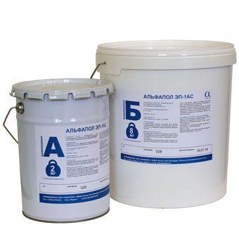 Эпоксидная водоэмульгированная токопроводящая грунтовка для создания адгезионного токопроводящего слоя по загрунтованным минеральным основаниям перед устройством антистатического покрытия АЛЬФАПОЛ ЭП-2АС