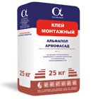 Монтажный клей Аромофасад в упаковке, 25 кг