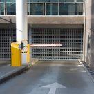 Износоустойчивый промышленный бетонный пол, въезд в подземный гараж