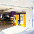 Износоустойчивое бетонное покрытие пола, паркинг
