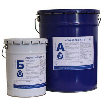 Двухкомпонентная эпоксидная грунтовка для работ в условиях низких температур и/или повышенной влажности воздуха