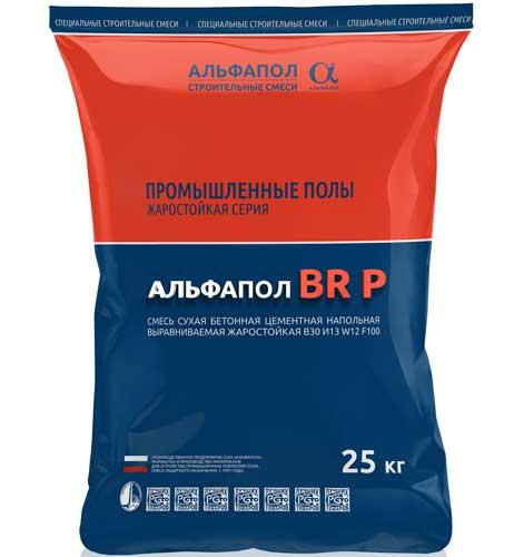 АЛЬФАПОЛ ВR P И13 в упаковке, 25 кг - жаростойкий бетон на портландцементе