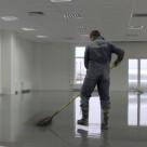 АЛЬФАПОЛ КС наливной пол в аэропорту Пулково