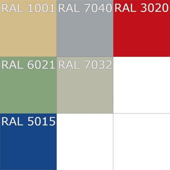 RAL - Основные цвета полимерных полов АЛЬФАПОЛ
