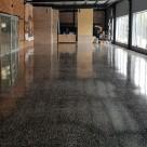 АЛЬФАПОЛ ВБ терраццо промышленный шлифованный бетонный пол