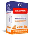 Упрочнитель для бетонного пола АЛЬФАПОЛ ТОП Корунд в упаковке, 25 кг