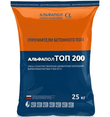 Жидкий топпинг АЛЬФАПОЛ ТОП 200 в упаковке, 25 кг