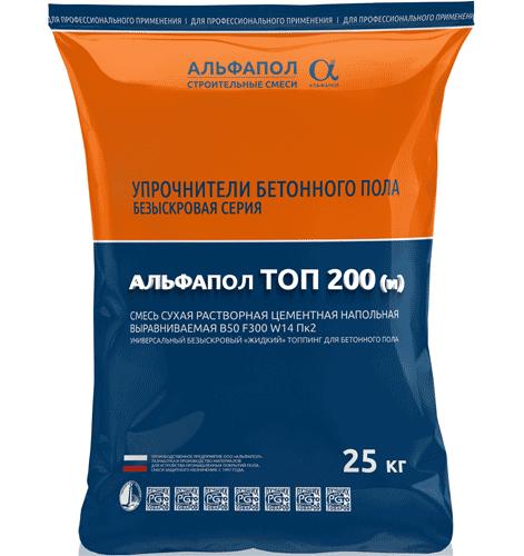 Жидкий топпинг АЛЬФАПОЛ ТОП 200(искробезопасный) в упаковке, 25 кг