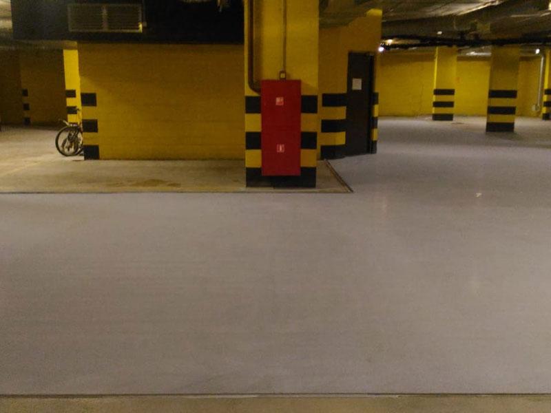 Промышленный бетон на цементной основе марки В45 АЛЬФАПОЛ ВБ-600 в упаковке, 25 кг